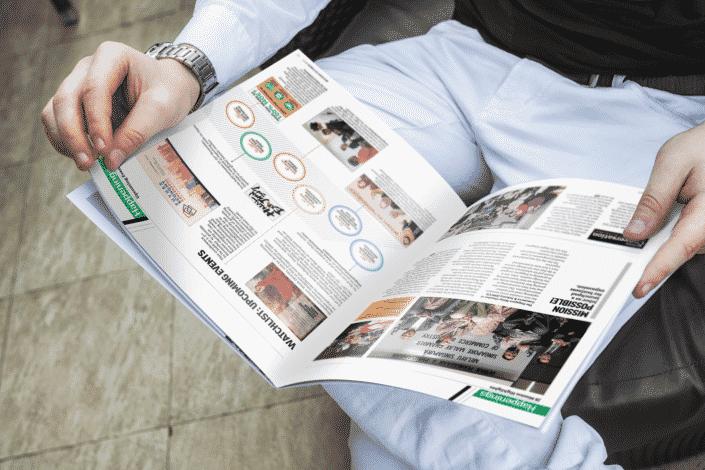 BizVoice Q3 Magazine Design (inside page)