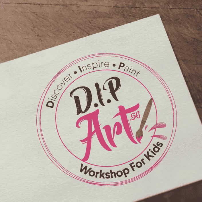 DIP Art SG Logo Design
