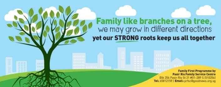 Pasir Ris Family Service Centre PVC Banner Design 2