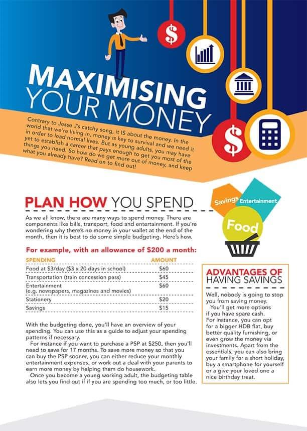 Booklet Infographics Design