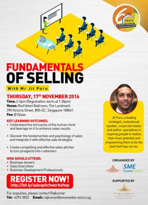 SMCCI Fundamentals of Selling Workshop EDM