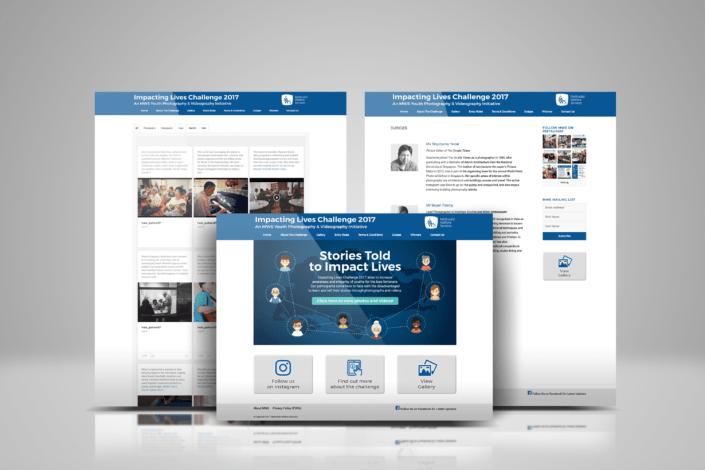 Impacting Lives Challenge 2017 Website Design