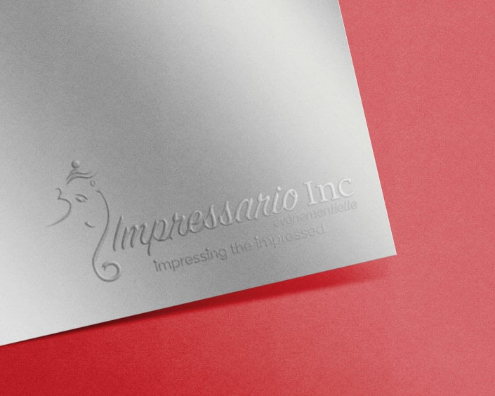 Impressation Inc Logo Design