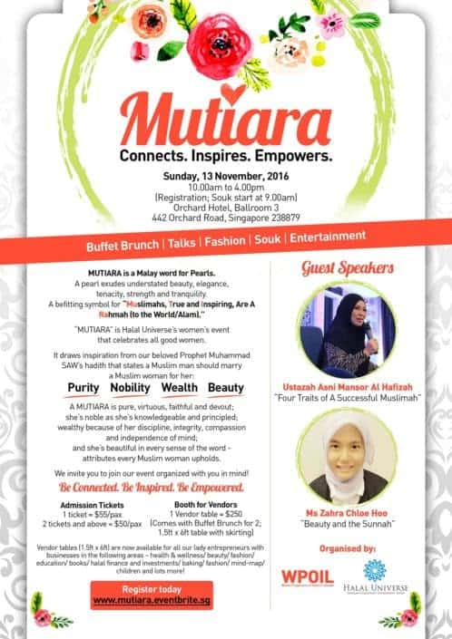 Halal Universe Mutiara EDM Design