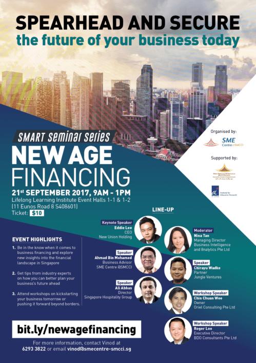 SME Centre @ SMCCI Smart Seminar Series New Age Financing EDM Design