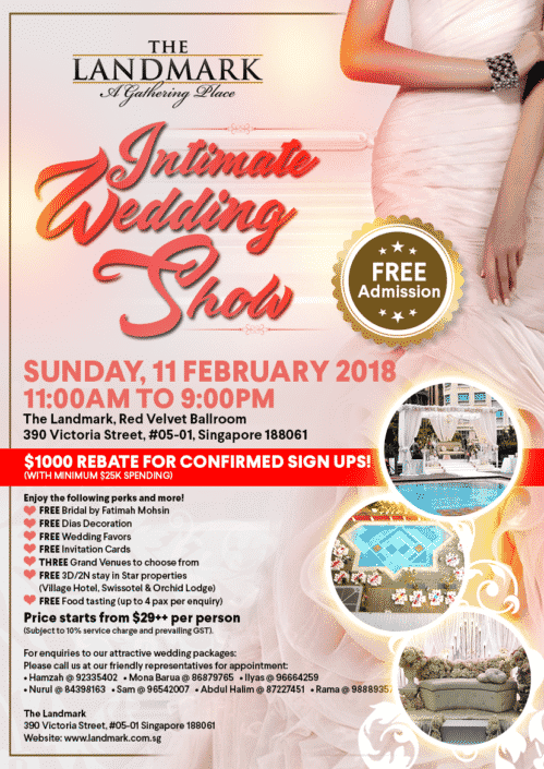 The Landmark Intimate Wedding Show EDM