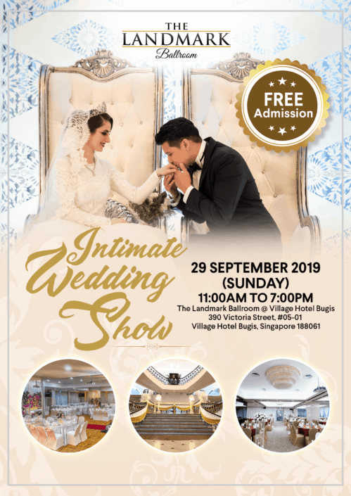 Intimate Wedding Show Poster Design